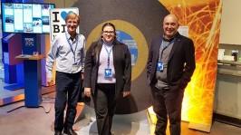 Diretores da Arsystem buscam novidades na Europa