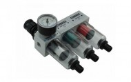 "Filtro Laboratorial Mini G 1/4"" Alumínio+DR Automático Belton"