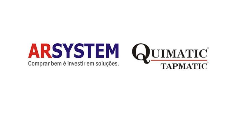Grupo Arsystem torna-se distribuidor Quimatic Tapmatic