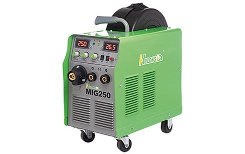 Máquina de Solda Compacta MIG 250 | Monofásica 220/1PH