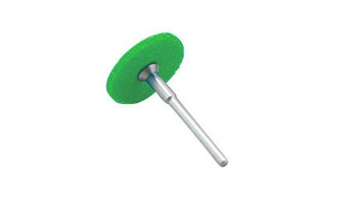 Ponta Disco UHT 25mmXHaste 3mm #320 Verde