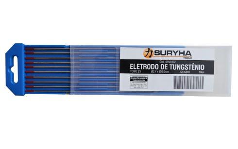 Eletrodo Tungstênio 2,4mm Torio 2%