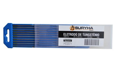 Eletrodo Tungstênio 3,2mm Ponta Verde
