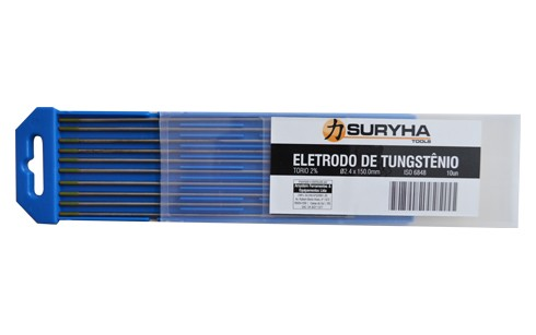 Eletrodo Tungstênio 2,4mm Ponta Verde