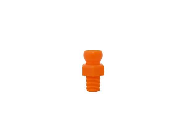 Conector Rosca 1/8 para Flexível de 1/4