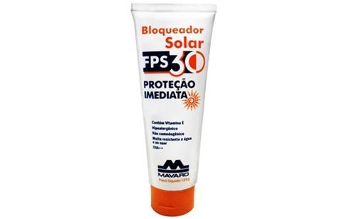 Bloqueador Solar Mavaro FPS30-120G
