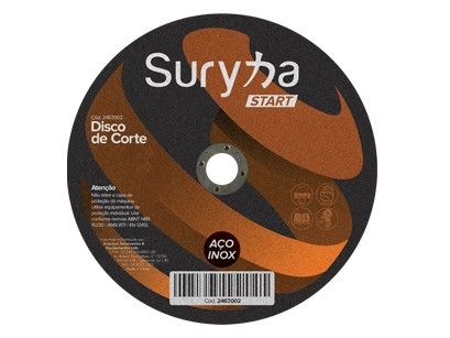 Disco de Corte 115 x 1.0 INOX Suryha Start