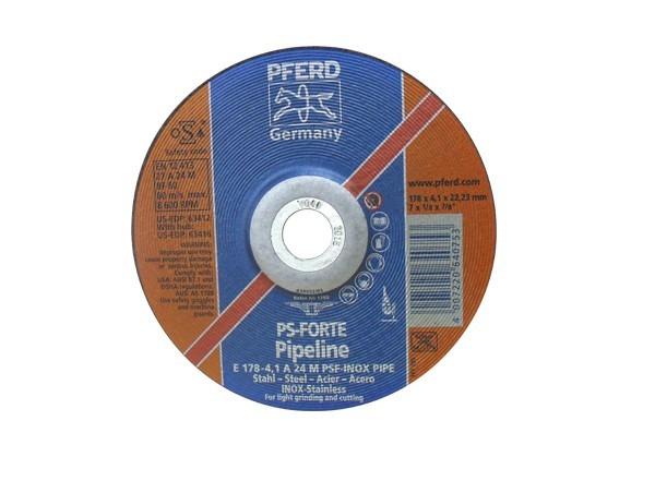 Disco E178-4 A 24 M PSF-Inox Pipe PFERD