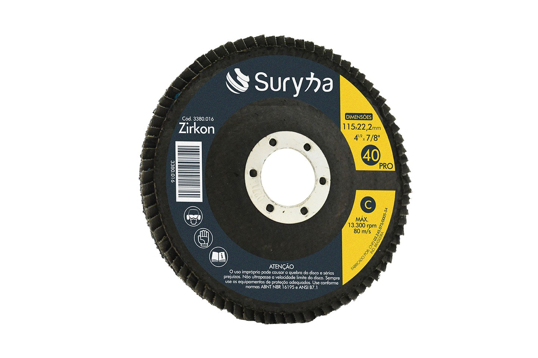 Disco Flap PFC 115 Z40 Fibra Pro | Suryha