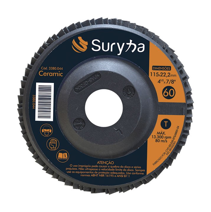 Disco Flap PFF 115 Z40 Plástico D | Suryha