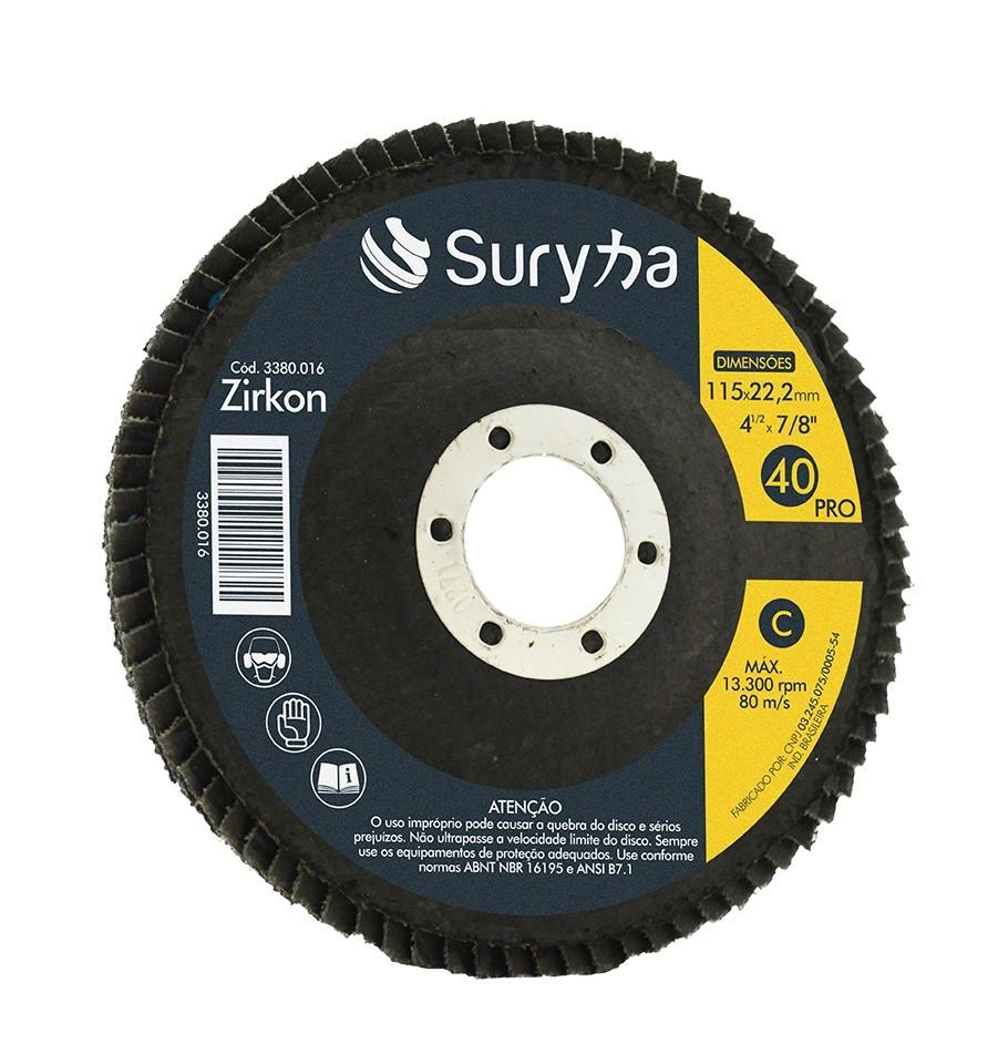 Disco Flap PFC 115 Z40 Pro | Suryha
