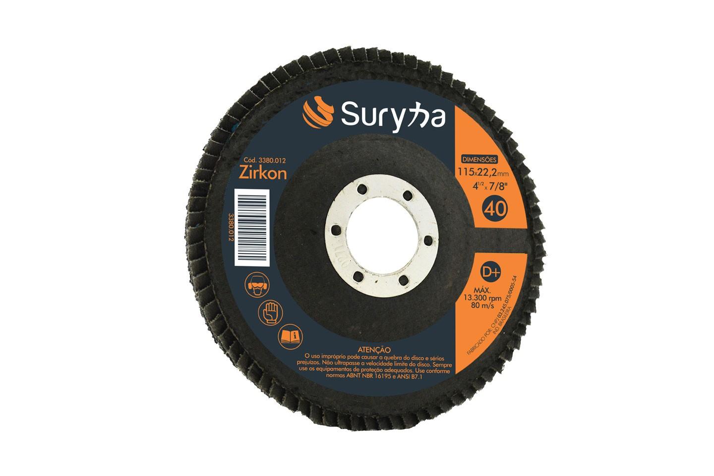 Disco Flap PFC 115 Z40 Fibra D | Suryha