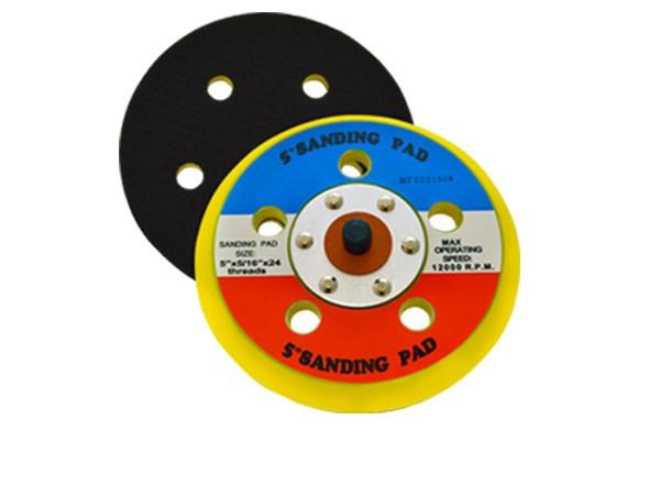 """Suporte Velcro 5"""" com 5 Furos 10mm"""