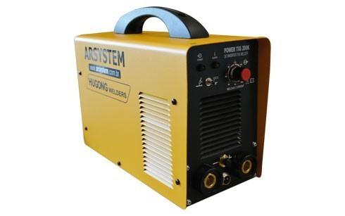 Máquina de Solda ARC 200K IGBT | Monofásica 220V | Hugong