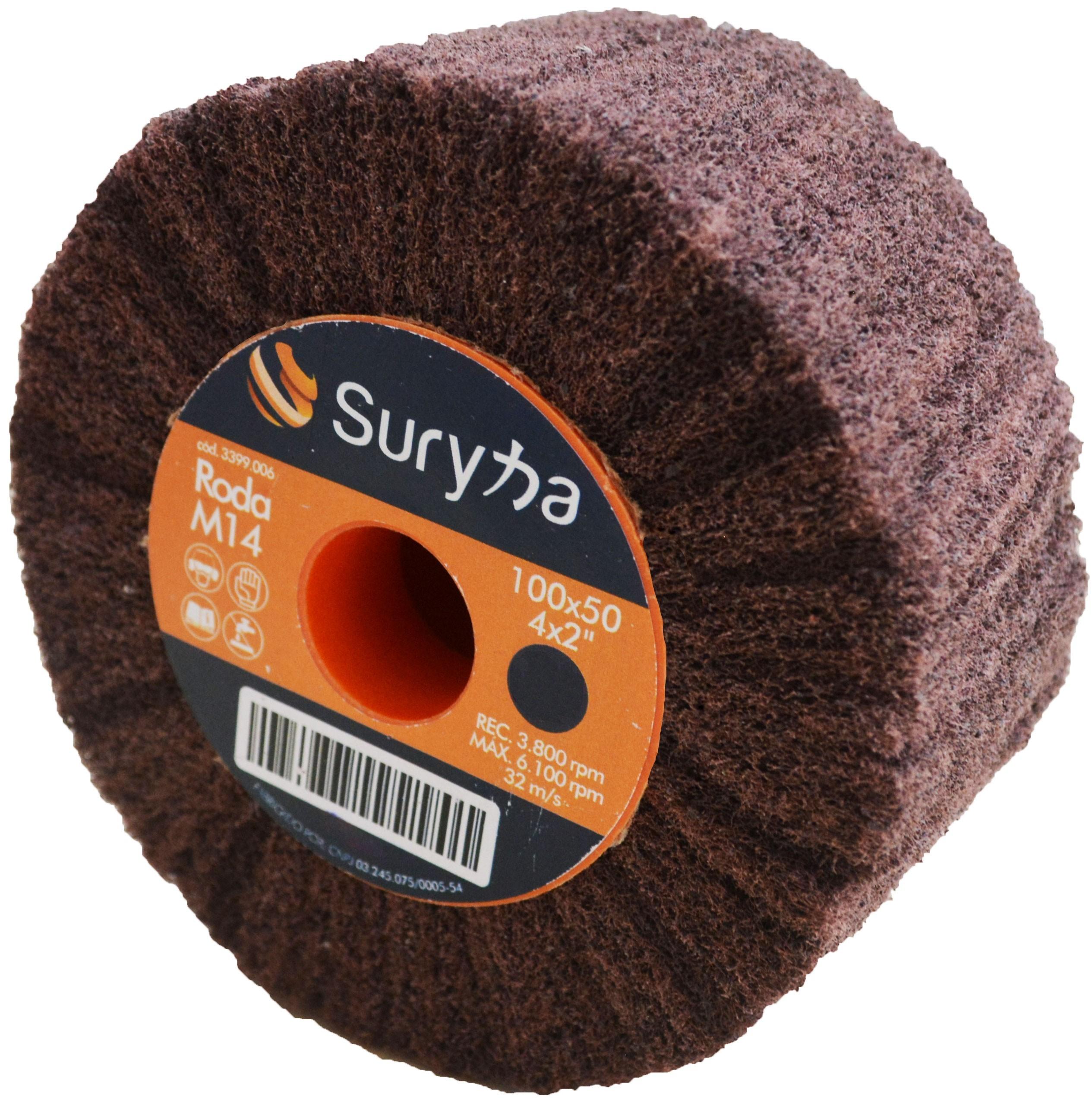 Roda de Manta 100 x 500 Grosso M14 Suryha